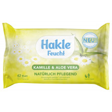 Hakle Feuchtes Toilettenpapier Kamille & Aloe Vera 42 Blatt