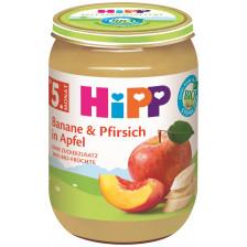 Hipp Bio Banane & Pfirsich in Apfel ab 5.Monat 190G
