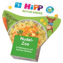 Hipp Bio Nudelzoo in Rahmsauce mit buntem Gemüse ab 1+ 250g