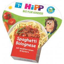 Hipp Bio Spaghetti Bolognese mit mediterranen Kräutern ab 1+ Jahr 250G