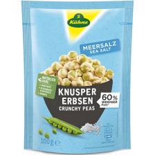 Kühne Enjoy Knusper Erbsen Meersalz 100 g