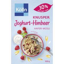 Kölln Müsli Knusper Joghurt Himbeer 30% weniger Fett 500G