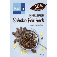 Kölln Müsli Knusper Schoko Feinherb 30% weniger Fett 500G
