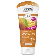 lavera Naturkosmetik Vitalisierende Bodylotion mit Bio-Orange & Bio-Sanddorn 200 ml