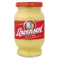 Löwensenf Senf extra scharf im Glas 250 ml