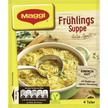 Maggi Guten Appetit! Frühlings Suppe ergibt 1 ltr