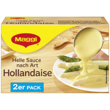 Maggi Helle Sauce nach Art Hollandaise ergibt 2x 250 ml