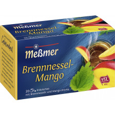 Meßmer Tee Brennessel-Mango 20ST 35G