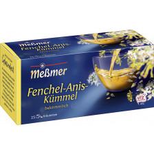 Meßmer Tee Fenchel-Anis-Kümmel 25ST 50G