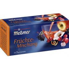 Meßmer Tee Früchte-Mischung 25ST 75G