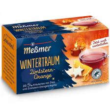 Meßmer Tee Wintertraum Zimtstern-Orange 20ST 40G