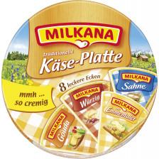 Milkana Käseplatte 8x 25 g