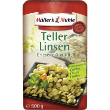 Müller's Mühle Teller Linsen 500 g
