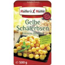 Müller's Mühle Gelbe Schälerbsen 500G