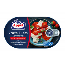Appel zarte Heringsfilets in Tomaten-Creme 200G