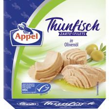 Appel zarte Thunfischfilets in Olivenöl 185G