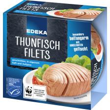 EDEKA Thunfischfilets in eigenem Saft und Aufguss 185G