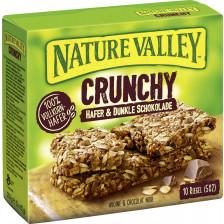 Nature Valley Crunchy Hafer & Dunkle Schokolade Riegel 10ST 210G