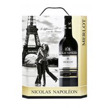 Nicolas Napoléon Merlot 3 ltr