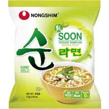 Nong Shim Instantnudeln Soon Veggie Ramyun mild 112G