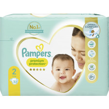 Pampers Premium Protection New Baby Windeln Gr.2 4-8kg 32ST
