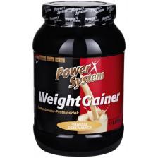 Power System Weight Gainer Vanille Geschmack 1 kg