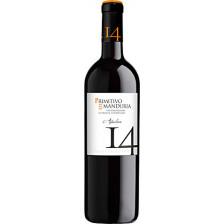 Cantolio Manduria Primitivo Quattordici 14 Rotwein 0,75 ltr