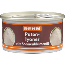 Rehm Putenlyoner mit Sonnenblumenöl 125 g