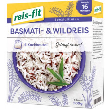 Reis-Fit Basmati- & Wildreis im Kochbeutel 16-18 Minuten 4x 125 g