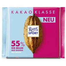 Ritter Sport Ghana Die Milde 55% Kakao 100 g