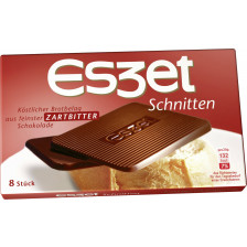 Eszet Schnitten zartbitter 75 g