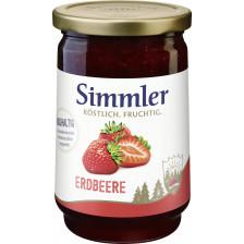 Simmler Konfitüre EXTRA Erdbeere 450 g