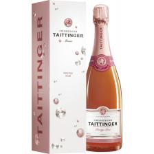 Taittinger Champagner Prestige Brut Rosé Geschenkpackung 0,75L