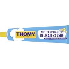 Thomy Delikatess Senf mittelscharf in der Tube groß 200 ml