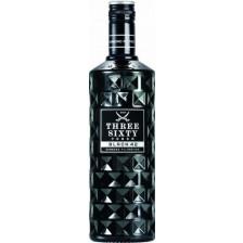 Three Sixty Vodka Black 42 0,7 ltr