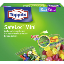 Toppits Zip Verschlussbeutel Mini 40ST