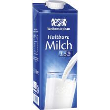 Weihenstephan haltbare Milch 3,5% Fett 1000ml