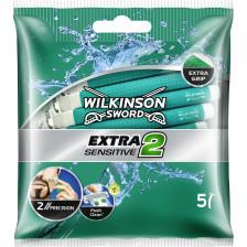 Wilkinson Extra 2 Sensitiv Einwegrasierer 5 Stück
