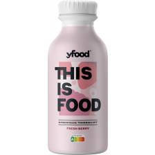 YFood Fresh Berry Trinkmahlzeit 500ml