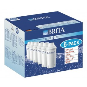 Brita Filterkartuschen Classic Pack 6