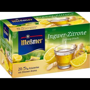 Meßmer Tee Ingwer-Zitrone