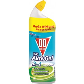 Null-Null WC Aktiv Gel 3in1 Fresh Green