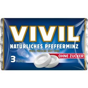 Vivil Natürliches Pfefferminz zuckerfrei