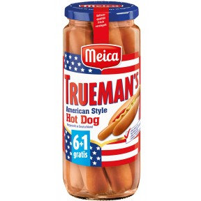 Meica 6+1 Trueman's American Style Hot Dog 540 g
