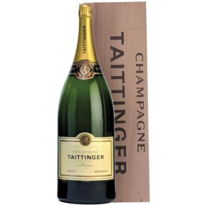 Taittinger Champagner Brut Reserve BALTHAZAR-Flasche