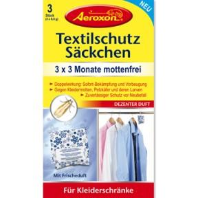 Aeroxon Textilschutz Säckchen 3 Stück