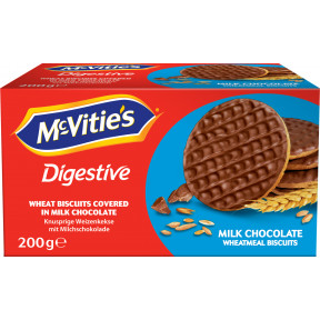 Mc Vities Milk Chocolate Weizenkekse 200G