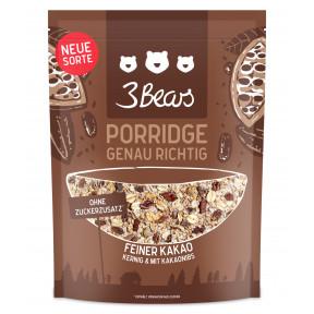 3 Bears Porridge Feiner Kakao 400 g