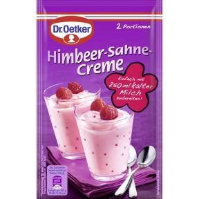 Dr.Oetker Himbeer-Sahne Creme