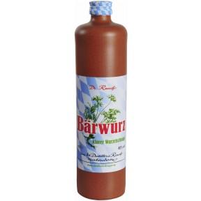 Destillerie Dr. Rauch Bärwurz klarer Wurzelschnaps 0,7 ltr